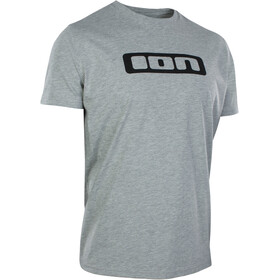 ION Logo T-shirt Heren, grey melange